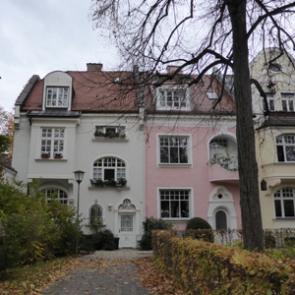 Bauen in Bayern Villenkolonie in München Gern