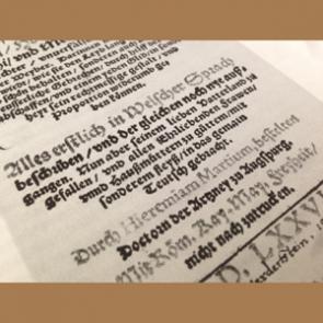 Übersetzung von Jeremias Martius